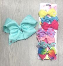 JoJo Days of the Week Bows + Large Bow