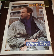 Pete Townshend - Original 1985 promotional poster for the 'White City' album NMT