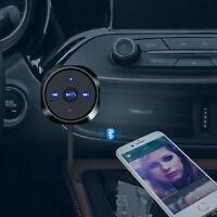 Voiture Bluetooth 3,5mm AUX audio Receveur Adaptateur Mains libre Stéréo musique