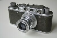 Zorki-1 Soviet Rangefinder Camera film 35mm with Industar-50 Russian Leica Copy