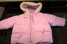 girls Ladybird purple lilac coat age 6-9 months