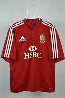 British & Irish Lions rugby shirt jersey South Africa 2008 Adidas Size M MEDIUM
