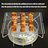 Portable Gas Barbeque Barbecue BBQ Cooker Stove Grill Beach Picnic Y3N9