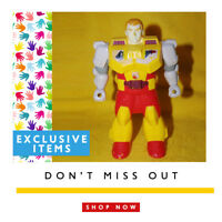 Vintage very rare - Hasbro Transformers G1 Pretenders Bumblebee 1988 TAKARA