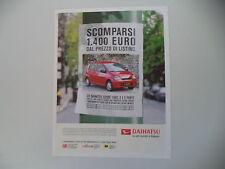advertising Pubblicità 2004 DAIHATSU CUORE