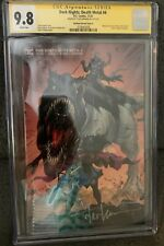 Dark Nights of Death Metal 4 CGC 9.8 SS Tyler Kirkham Minimal Variant Signature