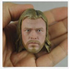 "1/6 scale Hot Custom Head Sculpt The Avengers Thor Chris Hemsworth fit 12"" Toys"