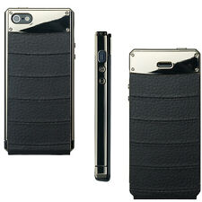 AnymodePrime Flip Suit iPhone 5 schwarz metall