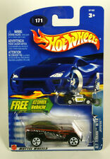 Hot Wheels Alt Terrain Jeepster Free Atomix Vehicle 2002
