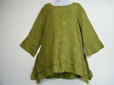 T-shirt, maglie e camicie da donna tunica di lino