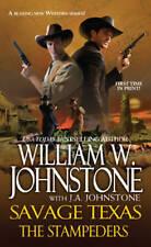 USED (VG) The Stampeders (Savage Texas) by William W. Johnstone