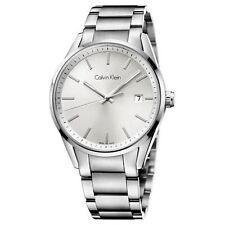 K4M21146 Men's Calvin Klein Formality Watch Silver Dial Stainless Steel Bracelet