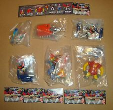 HG GASHAPON FIGURE SUPER ROBOT PART 7 SET COMPLETO BANDAI 2000 (GREAT MAZINGER)