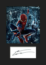 ANDREW GARFIELD (SPIDER MAN) #2 A5 Signed Mounted Photo Print - FREE DELIVERY