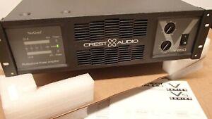 NOS New CREST AUDIO V650 Tour Class, 200W - 850W Pro HiFi Power Amplifier
