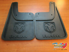 2009-2018 Dodge RAM 1500 Rear Rubber Mud Flaps w/o Fender Flares MOPAR OEM