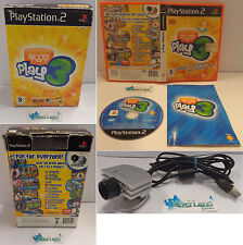 Console Game SONY Playstation 2 PS2 PSX2 PAL ITALIANO Eyetoy - EYE TOY PLAY 3 -