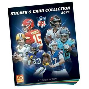PANINI NFL 2021 2022 Stickers and Card Collection Album NEW