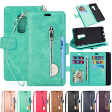 For Samsung S9+/S8/S7/Note 9/8 Phone Case Cover Card Wallet Flip Leather Stand