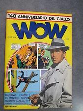 WOW N° 36 - LUIGI F. BONA EDITORE  NUMERO SPECIALE SUL GIALLO  VITTORIO GIARDINO
