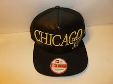 Chicago Bulls New Era NBA 9FIFTY A-Frame Snapback Baseball Hat Cap (MEN MED-LG)