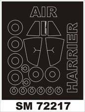 Montex Mini Mask 1:72 HS Harrier GR.3 for Airfix Kit Spraying Stencil #SM72217