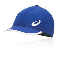 Asics Unisex Performance Running Cap Blue Sports Breathable Reflective