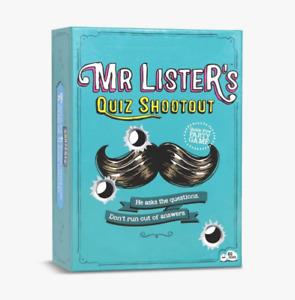 Big Potato Mr Lister's Quiz Shootout Trivia Game For Quick Thinking Families