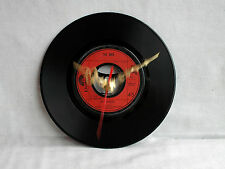 THE WHO WHO ARE YOU 7 INCH ORIGINAL VINYL CLOCK + BATTERY