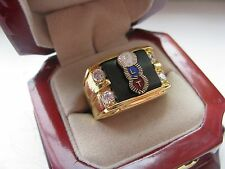 "Superb NEW! Gents ""Odd Fellows"" Member CREST Ring"