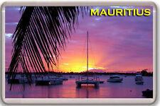 MAURITIUS - SUNSET FRIDGE MAGNET SOUVENIR IMAN NEVERA
