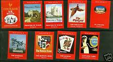 Série  étiquettes  Allumettes Grande Bretagne Affiches