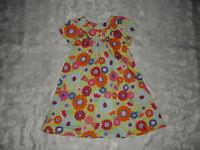 SO PRETTY Girls HANNA ANDERSSON Floral DRESS 110 Sz 5-6