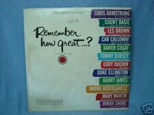 REMEMBER HOW GREAT? ARMSTRONG, ETC. VINTAGE LP ALBUM