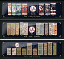 New York Yankees 27 World Series Tickets to History (3) Piece Framed Collection