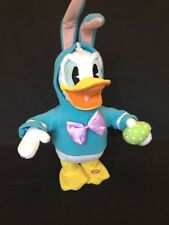 Hallmark Easter Donald Duck Animated Plush Musical Don't Pull My Ears Motion