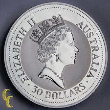 1992 1 kilo Silver Australian Kookaburra .999 Silver Coin Bullion
