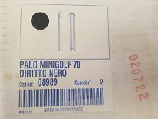 PRISMA 008989 8989 PALO MINIGOLF 70 DIRITTO NERO senza plafone prezzo per 1 palo