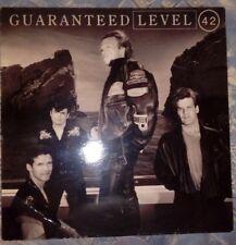 LEVEL 42 - GUARANTEED VINILO (19991 RCA) VG+/EX