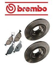 BMW E46 325i 2001-2005 Rear Left & Right Rotors & Pads Brake KIT Brembo/Akebono