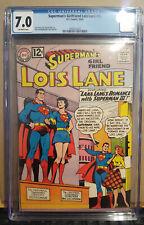 Superman's Girlfriend Lois Lane #36 CGC 7.0 1962 - DC Comics - 2092012023 OFF WH