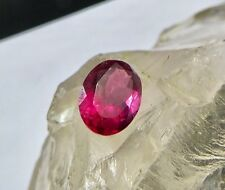 BEST PRICE 3.05 CTS PINK TOURMALINE RUBELLITE OVAL CUT GEMSTONE FOR RING PENDANT