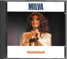 MILVA CD OMONIMO 1987 FONIT CETRA CDM 2005 PDO WEST GERMANY RARO NO BARCODE