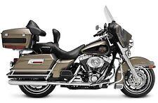Supertrapp Slip-on Mufflers Chrome HP Exhaust Harley Electra Glide 2010-2016