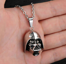 Star Wars Hot Film Darth Vader Mask Helmet Pendant Necklace Classic Jewelry Gift