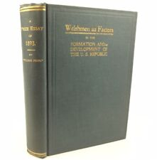 1893 Welshman as Factors in the Formation of the U.S. Republic, Ebenezer Edwards