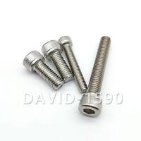 M3 DIN 912 Zylinderschraube Innensechskant Zylinder Kopf Schrauben Edelstahl 304