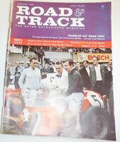 Road & Track Magazine Bugatti & Rambler Six Road Test February 1960 091214R