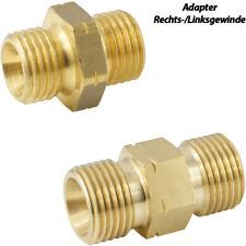 Doppelnippel Rechtsgewinde/Linksgewinde Adapter Messing Gewindefittinge