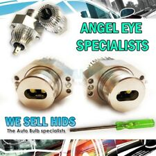 40W BMW 3 SERIES E90 E91 PRE LCI ANGEL EYES XENON WHITE LED MARKER 7000K XENON